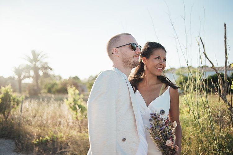 Couple shots in the Ibiza sun | Destination Wedding | Liberty Pearl Photography