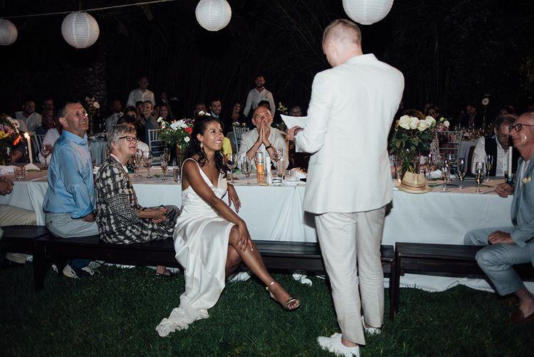 Speeches | Ibiza Wedding | Liberty Pearl Photography