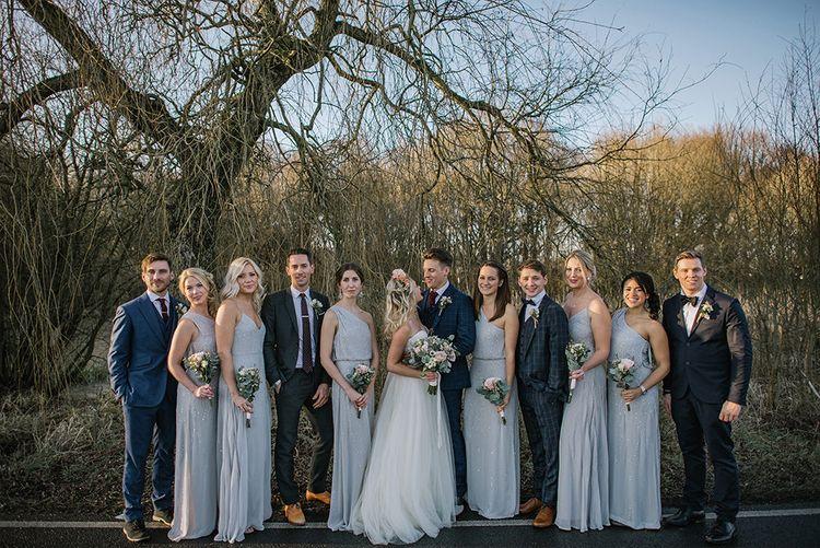 Winter Wedding Party Attire   Jacqui McSweeney Photography   KiteBox Films
