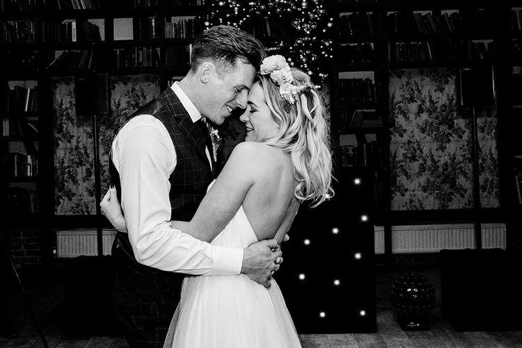 First Dance   Bride in Halfpenny London Bridal Separates   Groom in Pendulum Menswear Suit   Jacqui McSweeney Photography   KiteBox Films