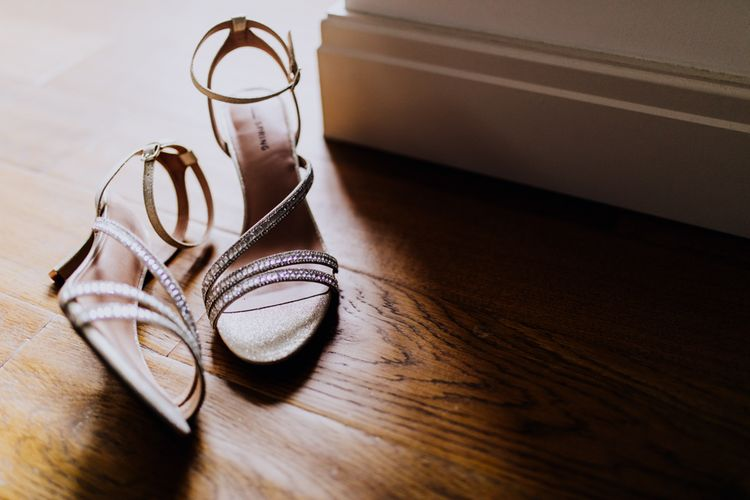 Wedding Shoes | Stylish Woodland Wedding in Cheshire | Clara Cooper Photography | Story Board Weddings Films