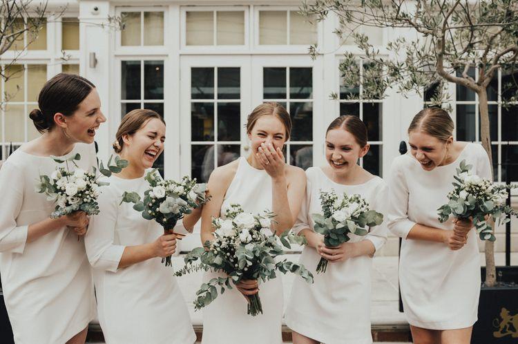 Alternative Wedding Group Shots // Image By Nataly J