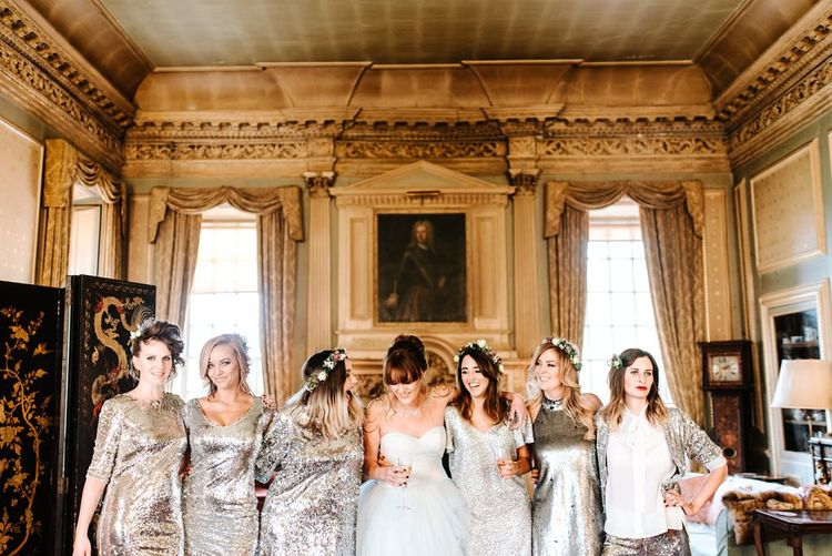 Alternative Wedding Group Shots // Image By Tub Of Jelly
