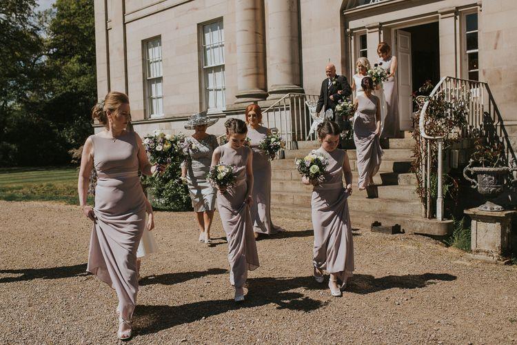 Alternative Wedding Group Shots // Image By Maureen Du Preez