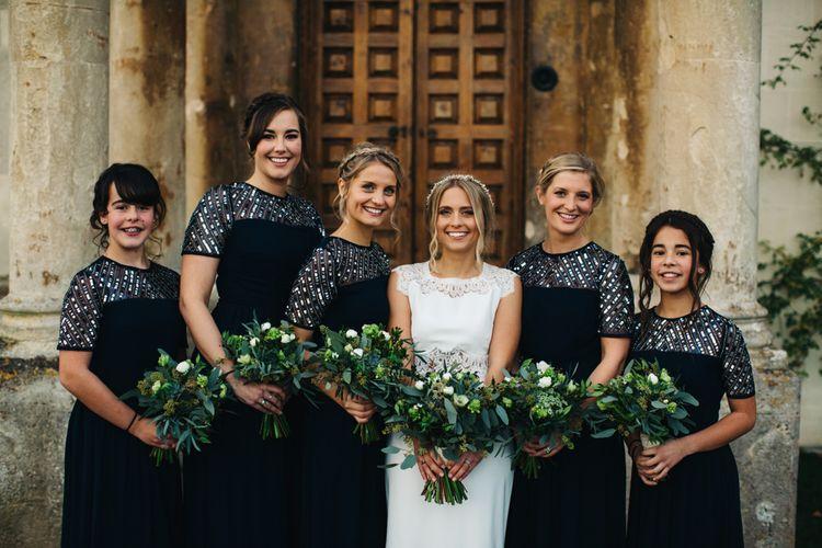 Alternative Wedding Group Shots // Image By Richard Skins
