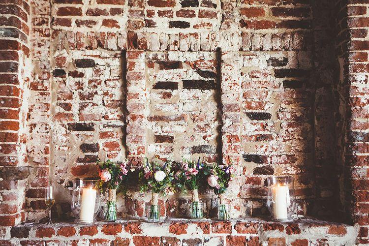 Jam Jar Flowers Wedding