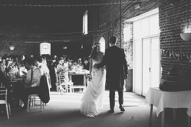 Rustic Barn Wedding at Godwick Hall