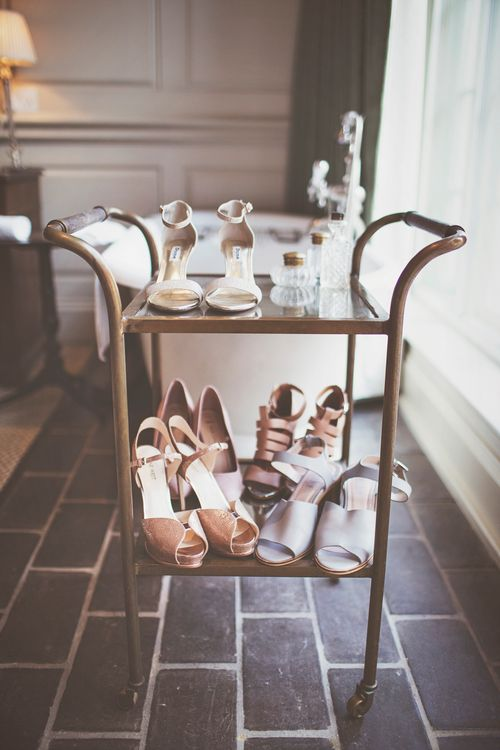 Hostess Trolley of Shoes