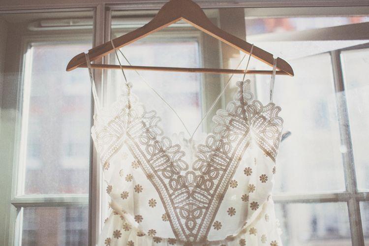 Lace Self Portrait Dress