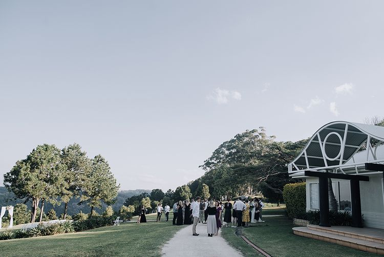 Sophisticated White & Green Colour Scheme for an Outdoor Australian Wedding at Summer Grove | Photography & Film by Mad Rose Films