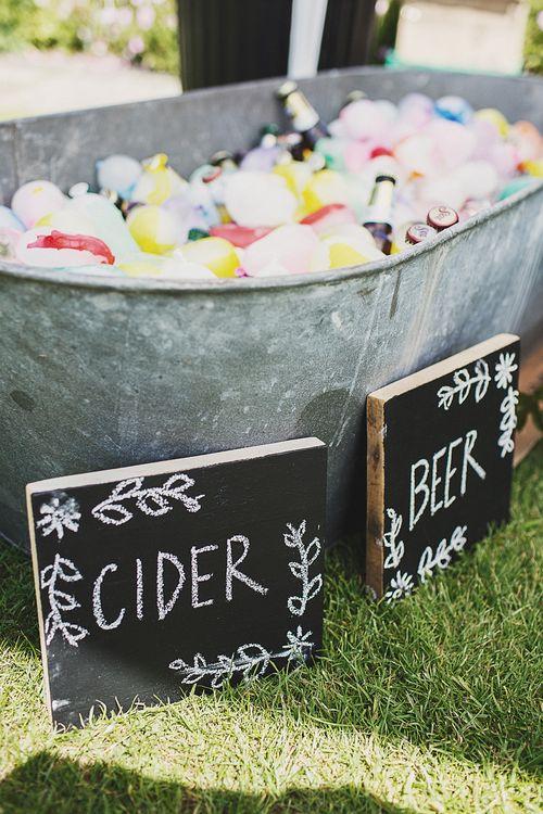 Beer & Cider Trough