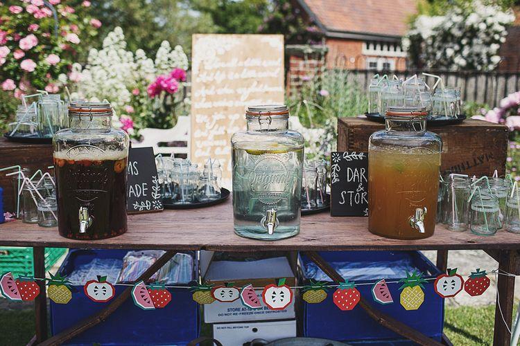 Kilner Jar Drinks Dispenser