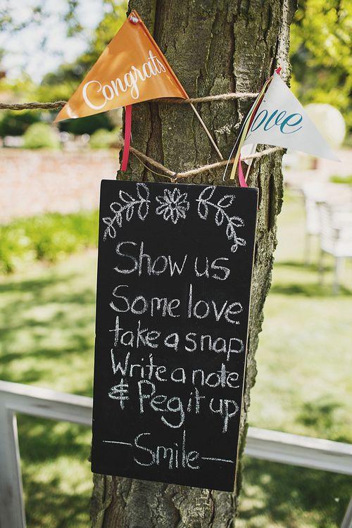 Wedding Sign DIY Decor