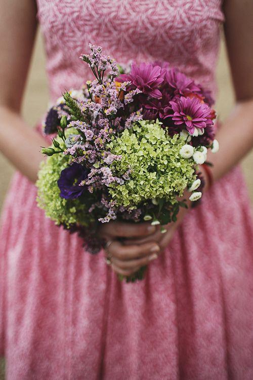 Wild Flower Bridesmaid Bouquet