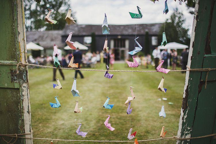 DIY Paper Cranes