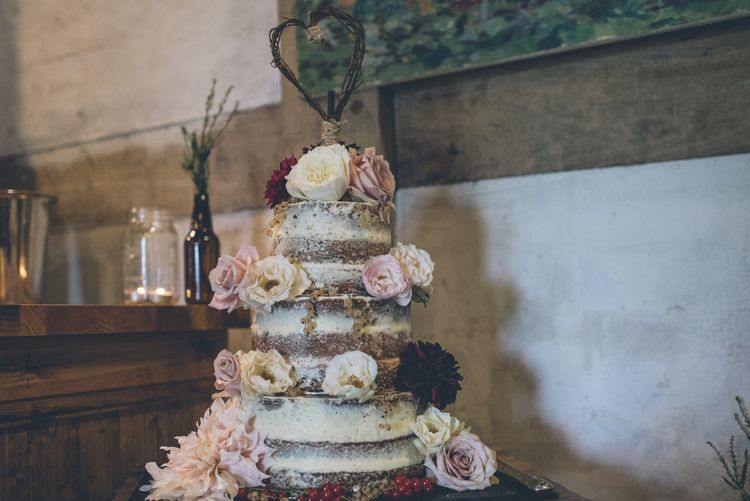 Naked Cake by Buttercream & Dreams