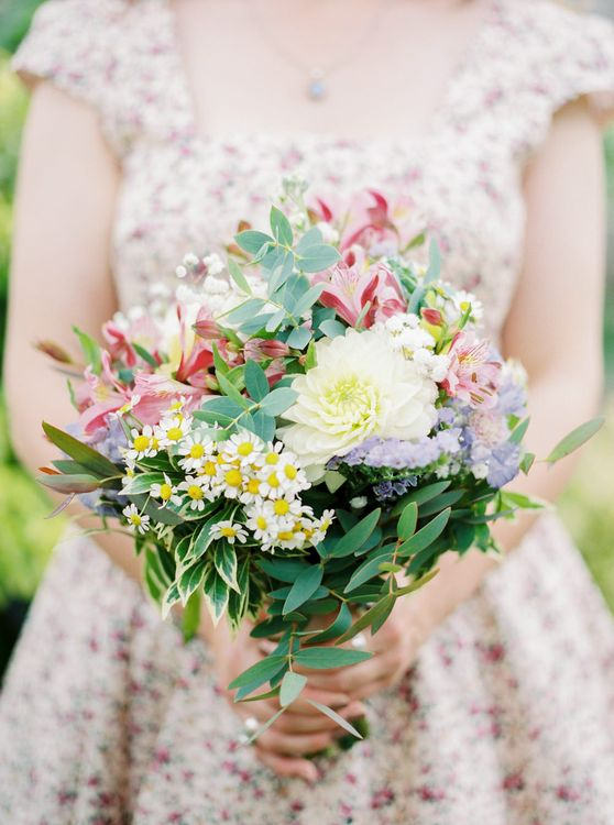 Wild Flower Bridal Posey