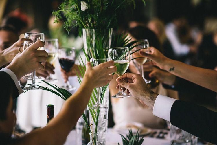 Cheers Wedding Reception