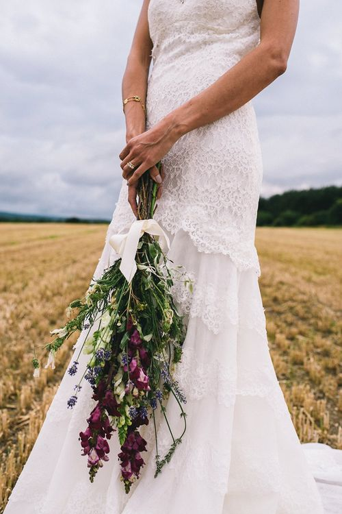 Stocks Wedding Bouquet