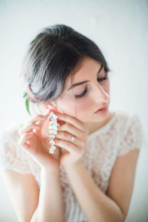 Chandelier Earrings For Bride