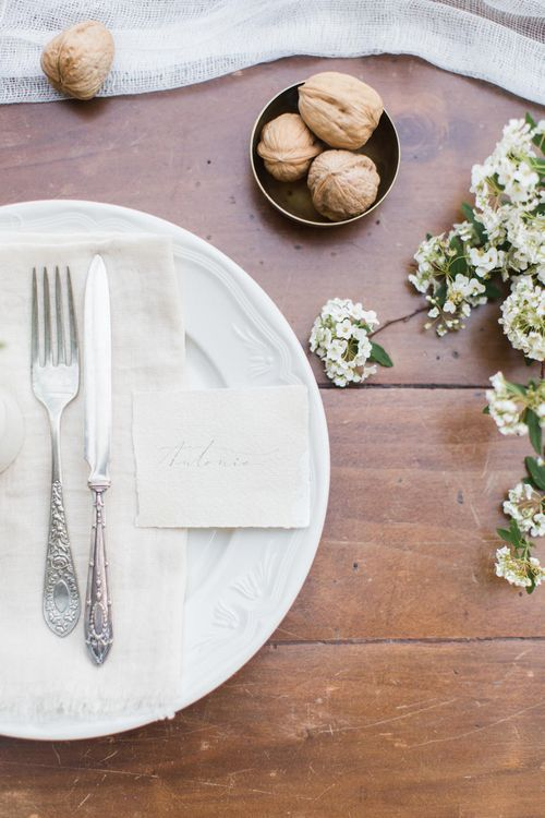 Elegant Supper For A Tuscan Destination Wedding