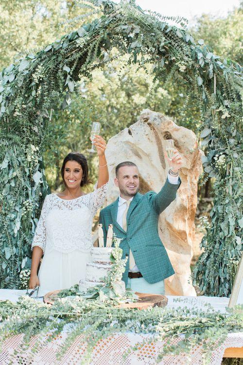 Bride & Groom Wedding Toast