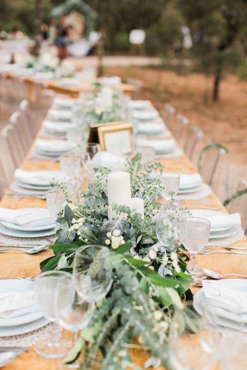 Trestle Table Wedding Breakfast