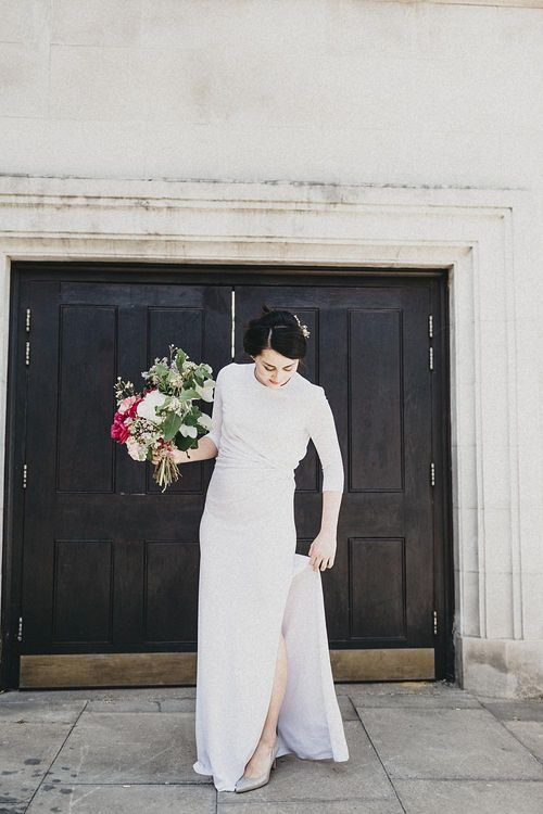 Stylish Bride in Givency Gown | Jason Williams Photography