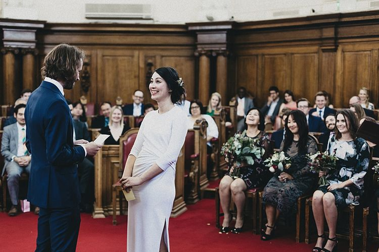 Wedding Ceremony at Islington Town Hall | Jason Williams Photography