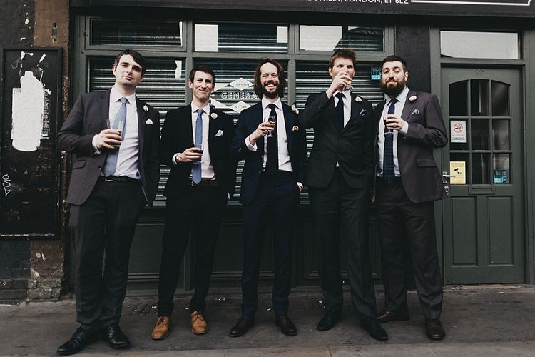 Groomsmen in Suit Supply | Jason Williams Photography