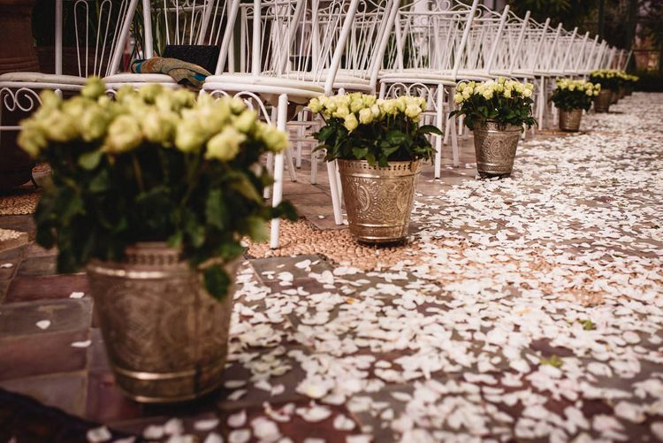 Aisle Style | Stylish Destination Wedding in Marrakesh | Andy Gaines Photography