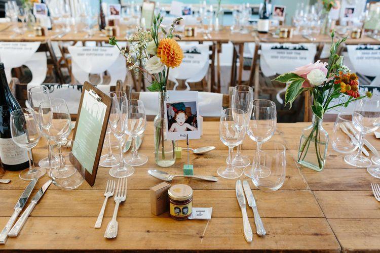 Table Wedding Decor   The Roost London Wedding Venue   Christine Wehrmeier Photography
