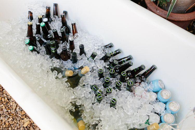 Beer Bath   The Roost London Wedding Venue   Christine Wehrmeier Photography