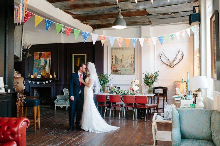 Eclectic Wedding Decor   The Roost London Wedding Venue   Christine Wehrmeier Photography