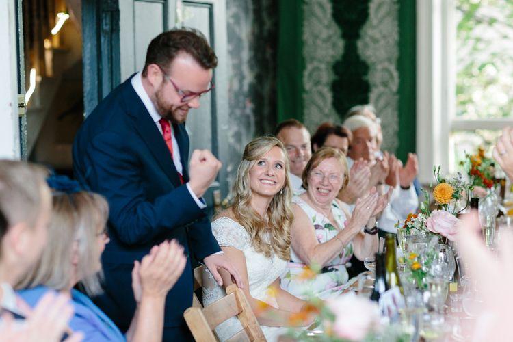 Wedding Reception Speeches   The Roost London Wedding Venue   Christine Wehrmeier Photography