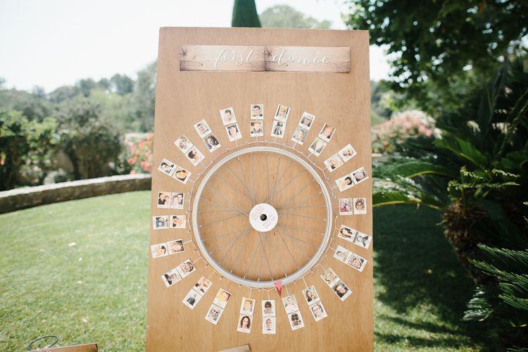 Wheel First Dance Selector
