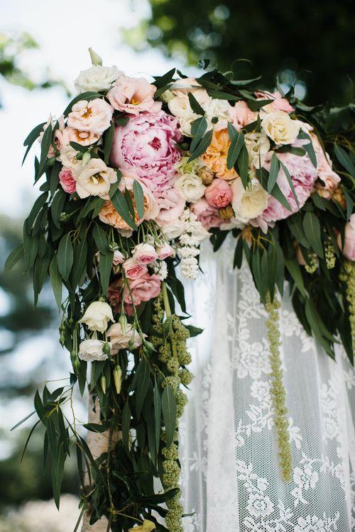 Blush Floral Arch
