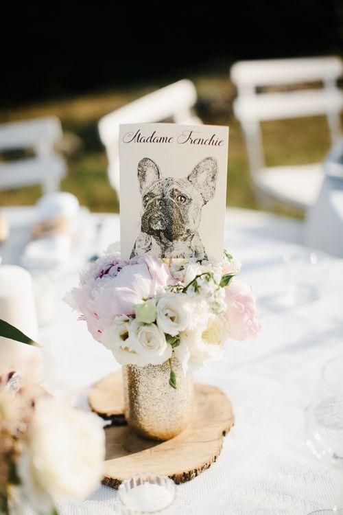 Table Names & Centrepieces
