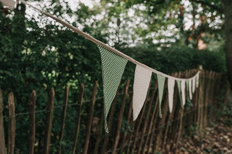 Bunting | DIY Lord of the Rings Themed Wedding at Monks Barn in Maidenhead | Jason Mark Harris Photography | Cinematic Films By J