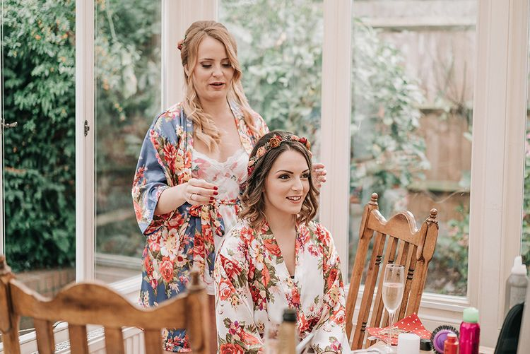 Wedding Morning Bridal Preparations | DIY Lord of the Rings Themed Wedding at Monks Barn in Maidenhead | Jason Mark Harris Photography | Cinematic Films By J