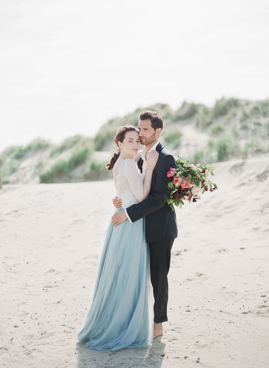 Blue Tulle Skirt by Cherry Williams London