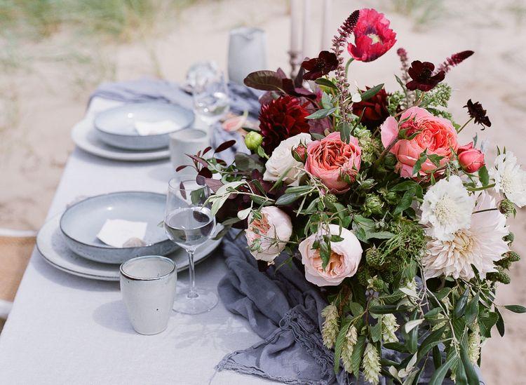 Coastal Wedding Inspiration by Rosy Apple Events