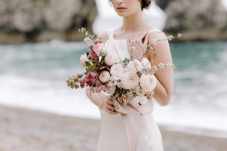 Charlie Brear Wedding Dresses Barefoot Bridal Inspiration At Lulworth Cove