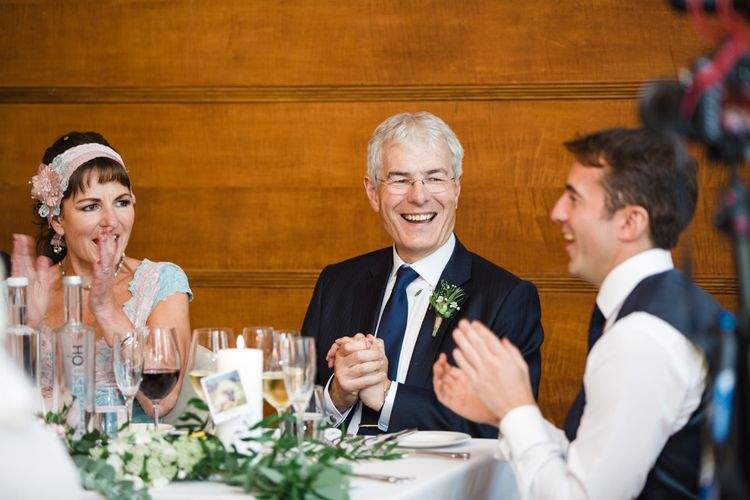 Greenery, White & Gold Stylish Wedding at The Town Hall Hotel in London | Lucy Davenport Photography