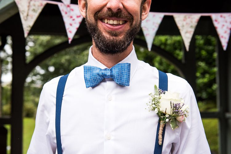 Grooms Accessory Bow Tie | Coastal Wedding at Driftwood Spas St Agnes, Cornwall | Jessica Grace Photography