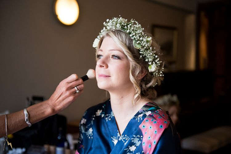 Bridal Makeup | Coastal Wedding at Driftwood Spas St Agnes, Cornwall | Jessica Grace Photography