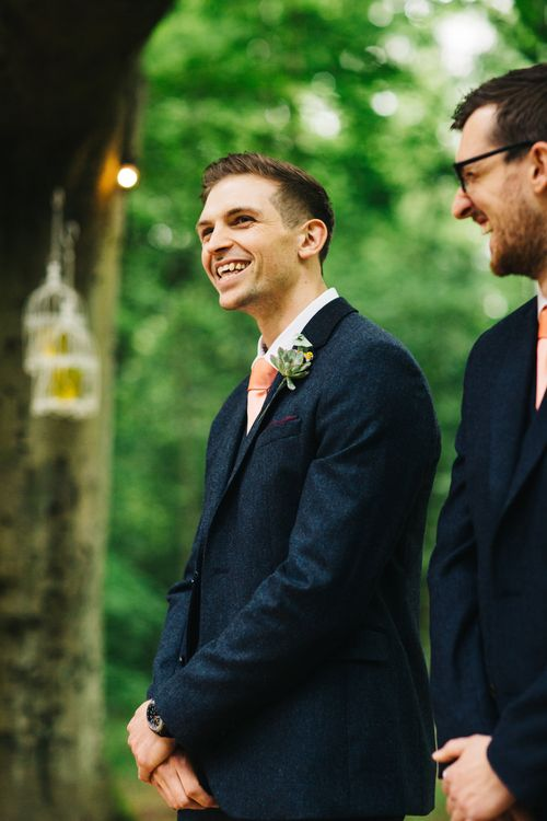 Groom at the Outdoor Altar