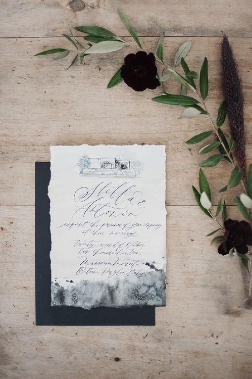 Marbled Stationery Suite