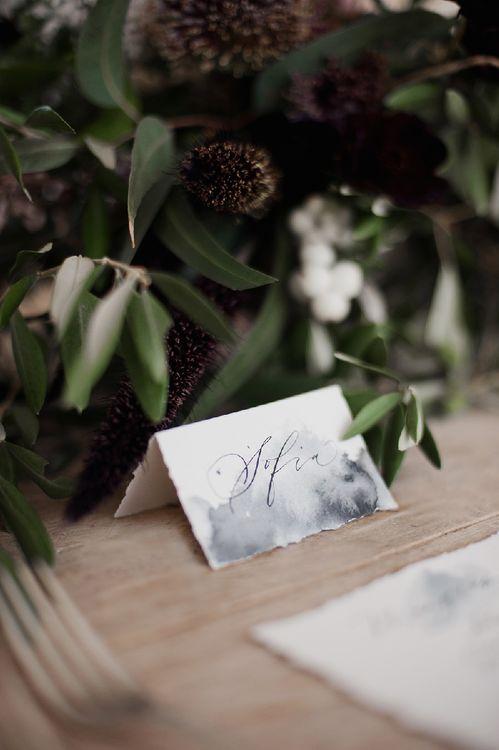 Marbled Wedding Stationery