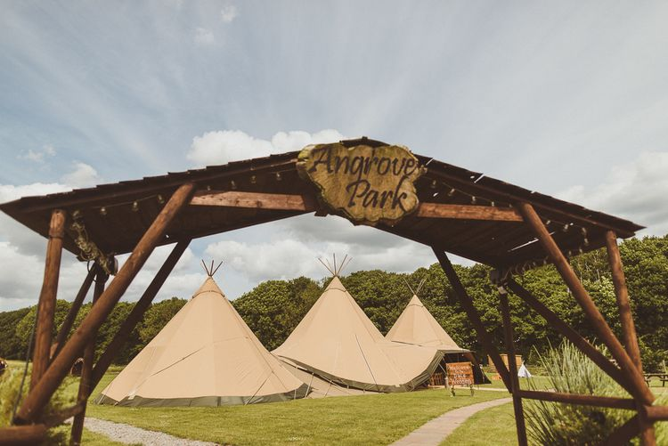 PapaKåta Tipi at Angrove Park North Yorkshire | Matt Penberthy Photography